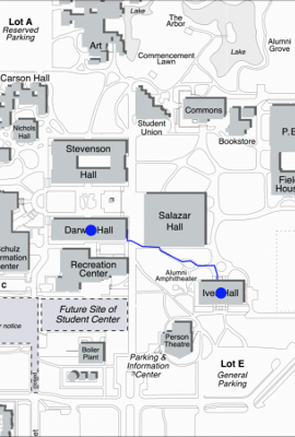 CampusPaths - Micro-navigation Android App.